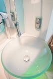 Modern sink Stock Image