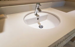 Modern sink Stock Photography