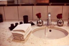 Modern sink Stock Photo