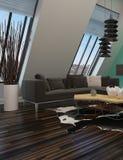 Modern sitting room interior decor Stock Photography