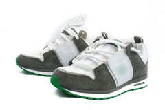 Modern skate shoes Royalty Free Stock Photo