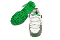 Modern skate shoes Stock Photo