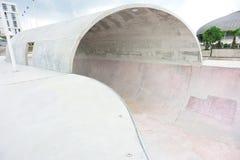Modern skatepark Royalty Free Stock Photos