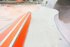 Modern skatepark Royalty Free Stock Images