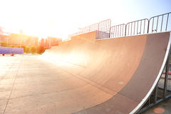 Modern skatepark Royalty Free Stock Photography