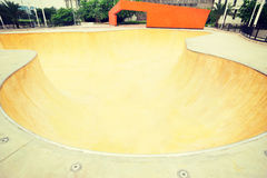 Modern skatepark Royalty Free Stock Photography
