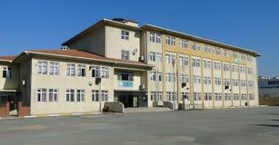Modern skolabyggnad i kalkon Arkivbilder