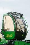 Modern skraj traktortaxi royaltyfria foton