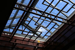 Modern skylight Royalty Free Stock Image