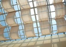 Modern Skylight Design Royalty Free Stock Images