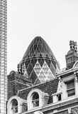 Modern skyline of City of London, UK Stock Image