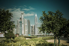 Modern skyline Royalty Free Stock Photos