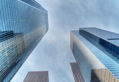 Modern skyscapers Stock Photo