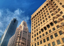 Modern skyscapers Stock Image