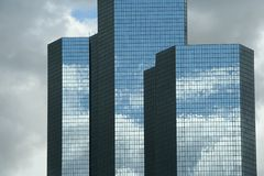 Modern skyscapers in Paris Royalty Free Stock Photos