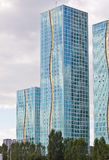 Modern residential complex Grand Alatau in Astana. Kazakhstan  Royalty Free Stock Photos