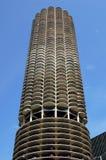 Modern Skyscraper. Picture of a very modern skyscraper in Chicago Stock Photography