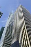 Modern skyscraper against Blue sky Stock Photo