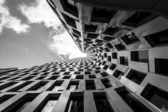 The modern skyscraper. Stock Photos
