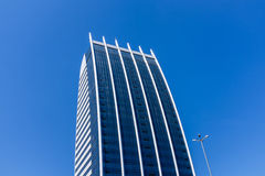 Modern skyscraper and blue sky Stock Photography