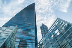 Modern skyscraper business office, corporate building abstract. Stock Image