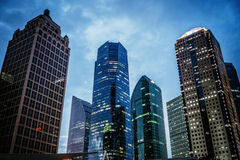 Free Modern Skyscraper Business Office, Corporate Building Abstract In Night. Stock Photo - 60937970