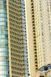 Modern Skyscraper Closeup Royalty Free Stock Images