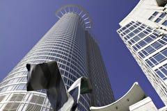 Modern Skyscraper DZ bank, Frankfurt Royalty Free Stock Image
