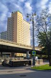 Holiday Inn hotel, Moscow, Russia. Royalty Free Stock Photos