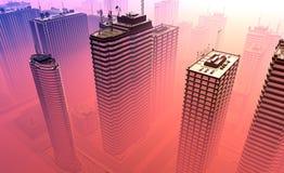 The modern skyscraper Stock Image