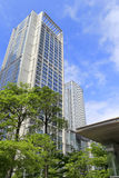 Modern skyscraper in taipei Stock Photo