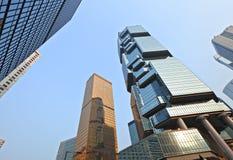 Modern skyscraper to sky Royalty Free Stock Photo