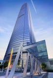 Modern Skyscraper viewed from below. Stock Photos