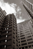 Modern skyscrapers Royalty Free Stock Image