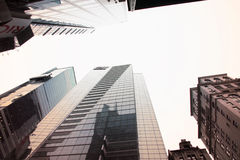 Modern skyscrapers Royalty Free Stock Images