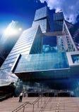 Modern skyscrapers Stock Photos
