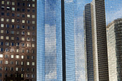 Modern skyscrapers Stock Images