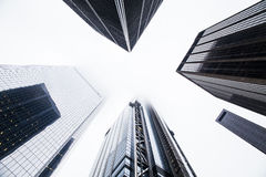 Modern skyscrapers Royalty Free Stock Photography