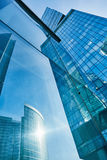 Modern skyscrapers business center Royalty Free Stock Images