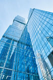 Modern skyscrapers business center Stock Images