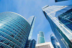 Modern skyscrapers business center Royalty Free Stock Photography
