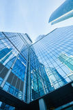 Modern skyscrapers business center Stock Image