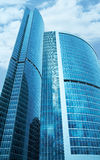 Modern skyscrapers business centre Stock Photo