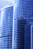 Modern skyscrapers close-up Royalty Free Stock Photos