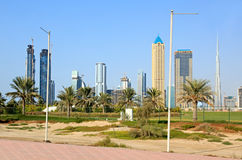 Modern skyscrapers of Dubai. Stock Photography