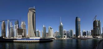 Modern skyscrapers, Dubai Marina, Dubai, United Arab Emirates Royalty Free Stock Photography
