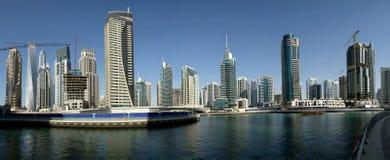 Modern skyscrapers, Dubai Marina, Dubai, United Arab Emirates Stock Photos