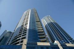 Modern skyscrapers, Dubai Marina, Dubai, United Arab Emirates Royalty Free Stock Images