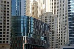 Modern skyscrapers, Dubai Marina, Dubai, United Arab Emirates Stock Photography