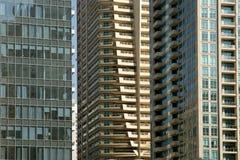 Modern skyscrapers, Dubai Marina, Dubai, United Arab Emirates Stock Images